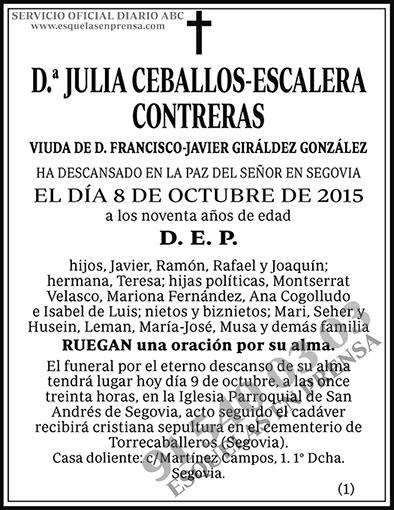 Julia Ceballos-Escalera Contreras